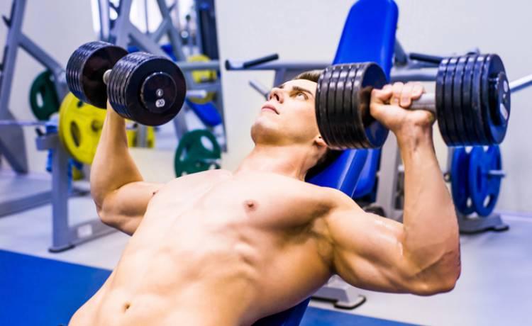 Domácí split trénink s činkami - zaměření na svalový objem a sílu