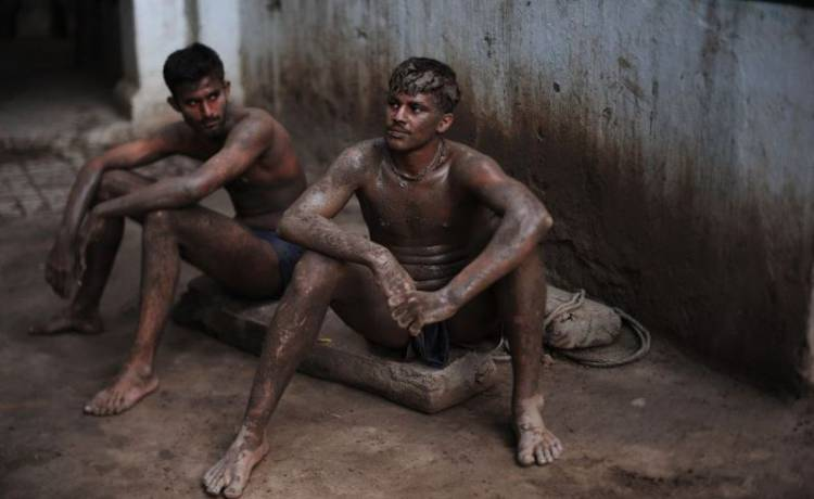 Posilovna v Indii