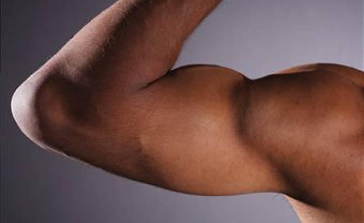 Tricepsový zdvih obouruč